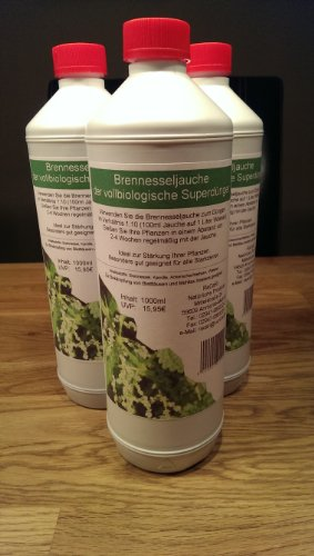 Brennesseljauche 5 Liter, Biodünger, Naturdünger, Dünger - 1